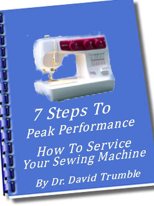 Seven Steps to Peak Performance