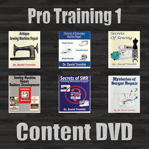 Pro Training 1 (Content DVD Only)