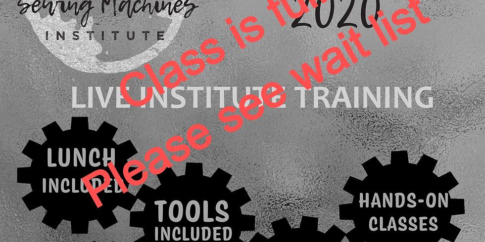 November 2020 Live Institute (3 Day & 2 Day Advanced)