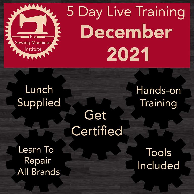 December 2021 Live Institute