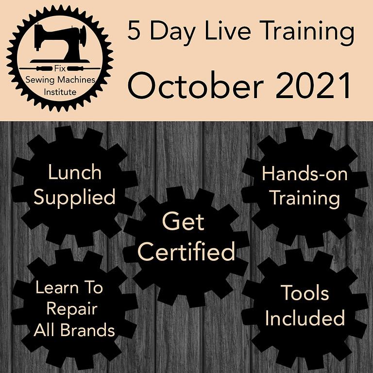 October 2021 Live Institute