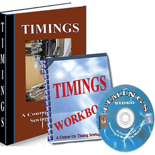 Pro Trainings 2: TIMINGS A Course On Timing Sewing Machines (On 6 DVDs)