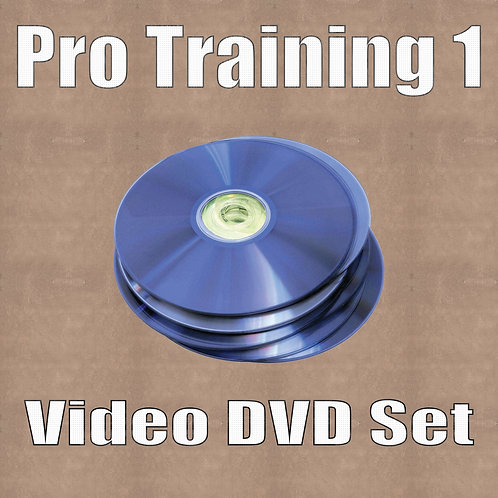 Video Training (5 DVDs) Pro Training 1