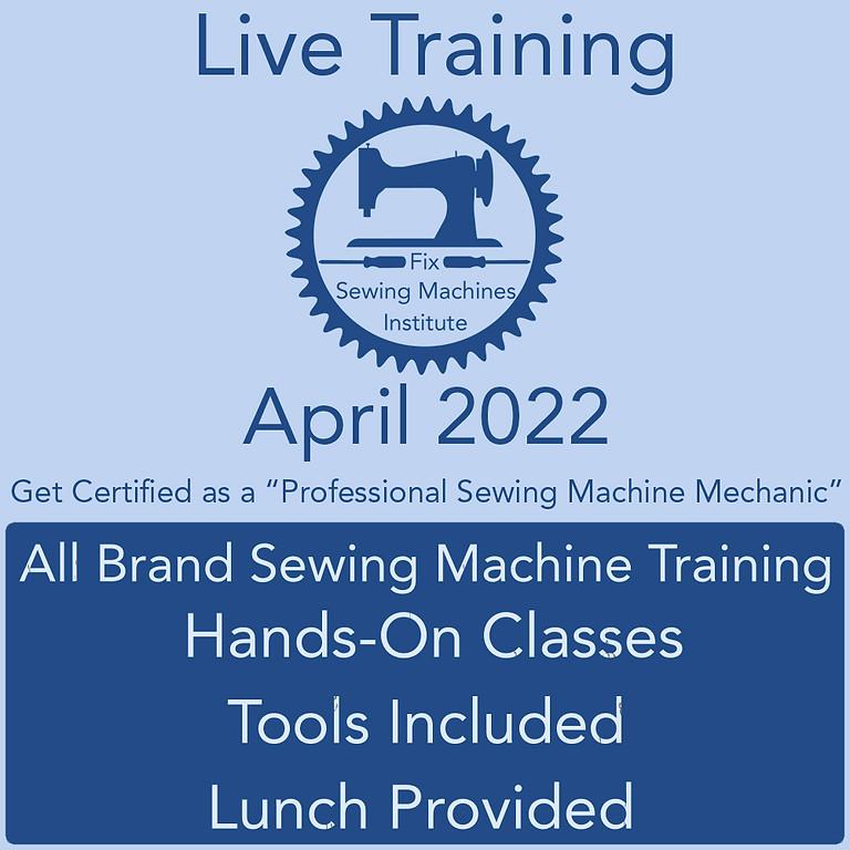 April 2022 Live Institute Training