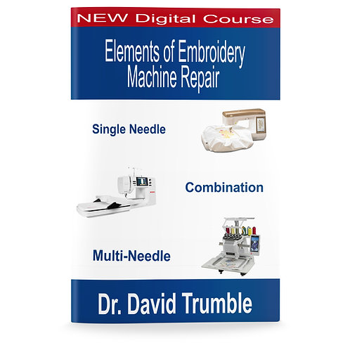 Elements Of Embroidery Machine Repair Course Download