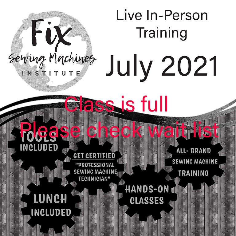July 2021 Live Institute