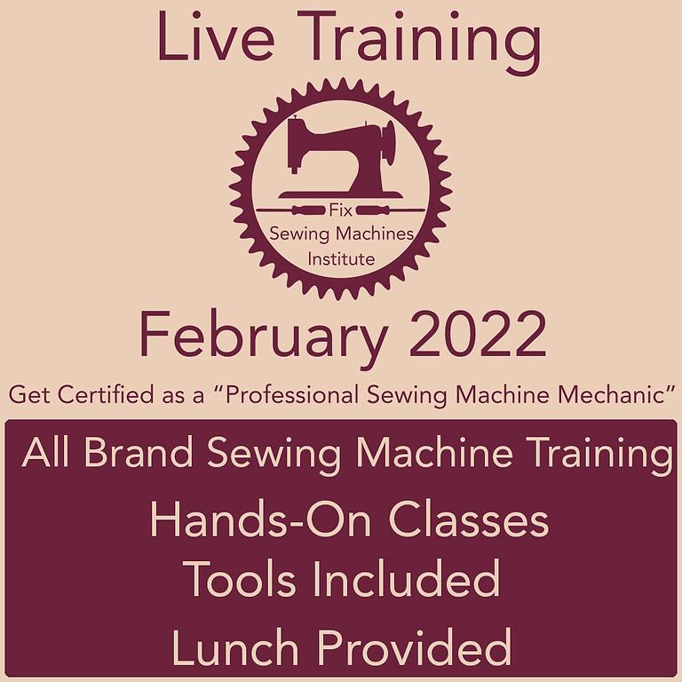 February 2022 Live Institute Training