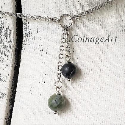 Irish Connemara & Kilkenny Marble Necklace 5017