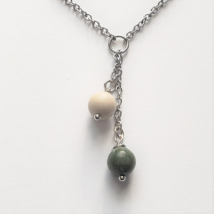 Irish Connemara & Ulster Marble Necklace 5016
