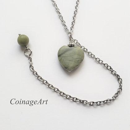 Connemara Heart Lariat Necklace 5037