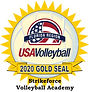 Strikeforce Volleyball Academy Gold Seal