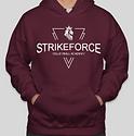 Strikeforce Hoodie - Maroone.PNG