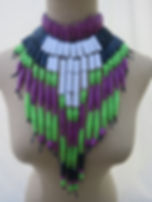 Paper Bead Breastplate
