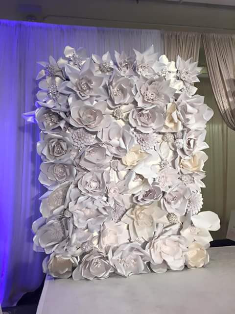 Pretty Paper Blossoms rocked our first fashion show for the Bridal Extravaganza of Atlanta!