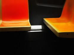 New York subway seats