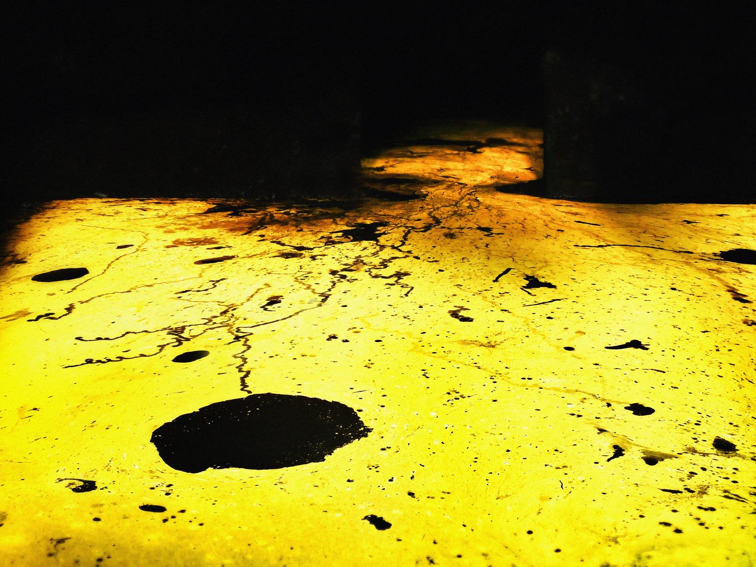 Flooded Etruscan tomb in Cerveteri