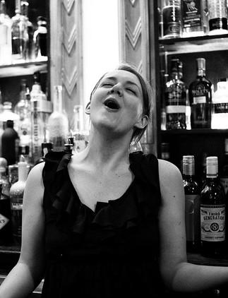a smokin' bartender