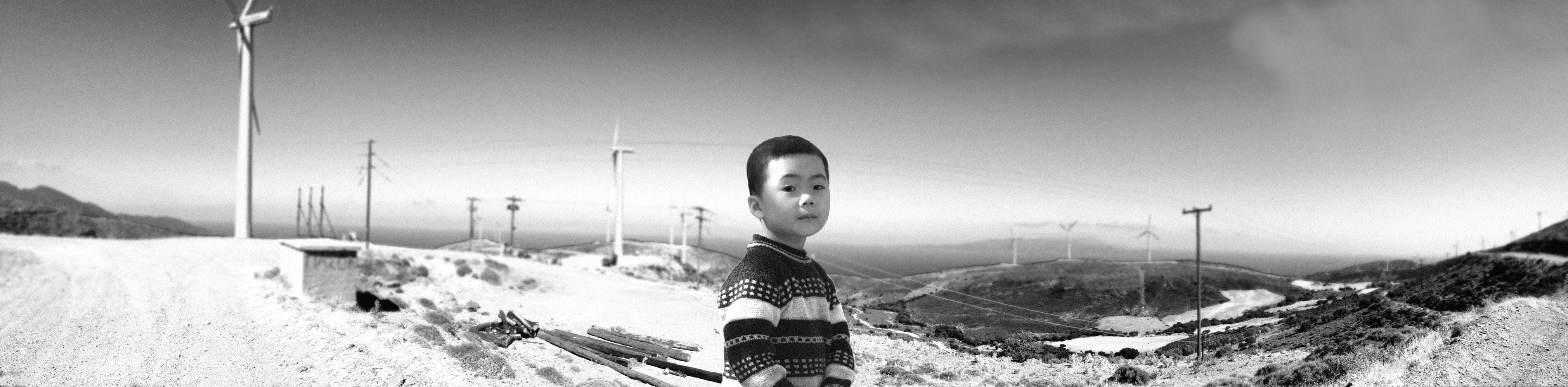 A boy - China