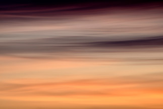 layers of sunset