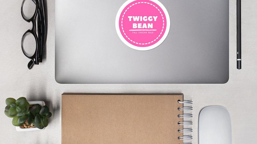 Twiggy Bean Bubble-free stickers