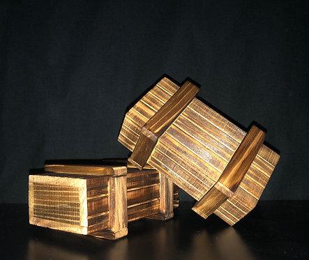 Rätselkiste aus Holz