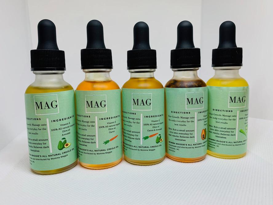 MagCreoleOils - MINI CREOLE OIL BUNDLE (5) $60.99MagCreoleOils