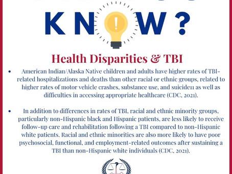 Health Disparities & TBI