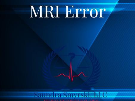 MRI Error