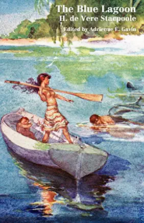 Cover of book The blue Lagoon