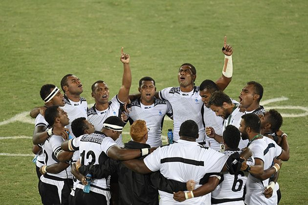 2016 Rio Olympics- Fiji wins rugby gold medal