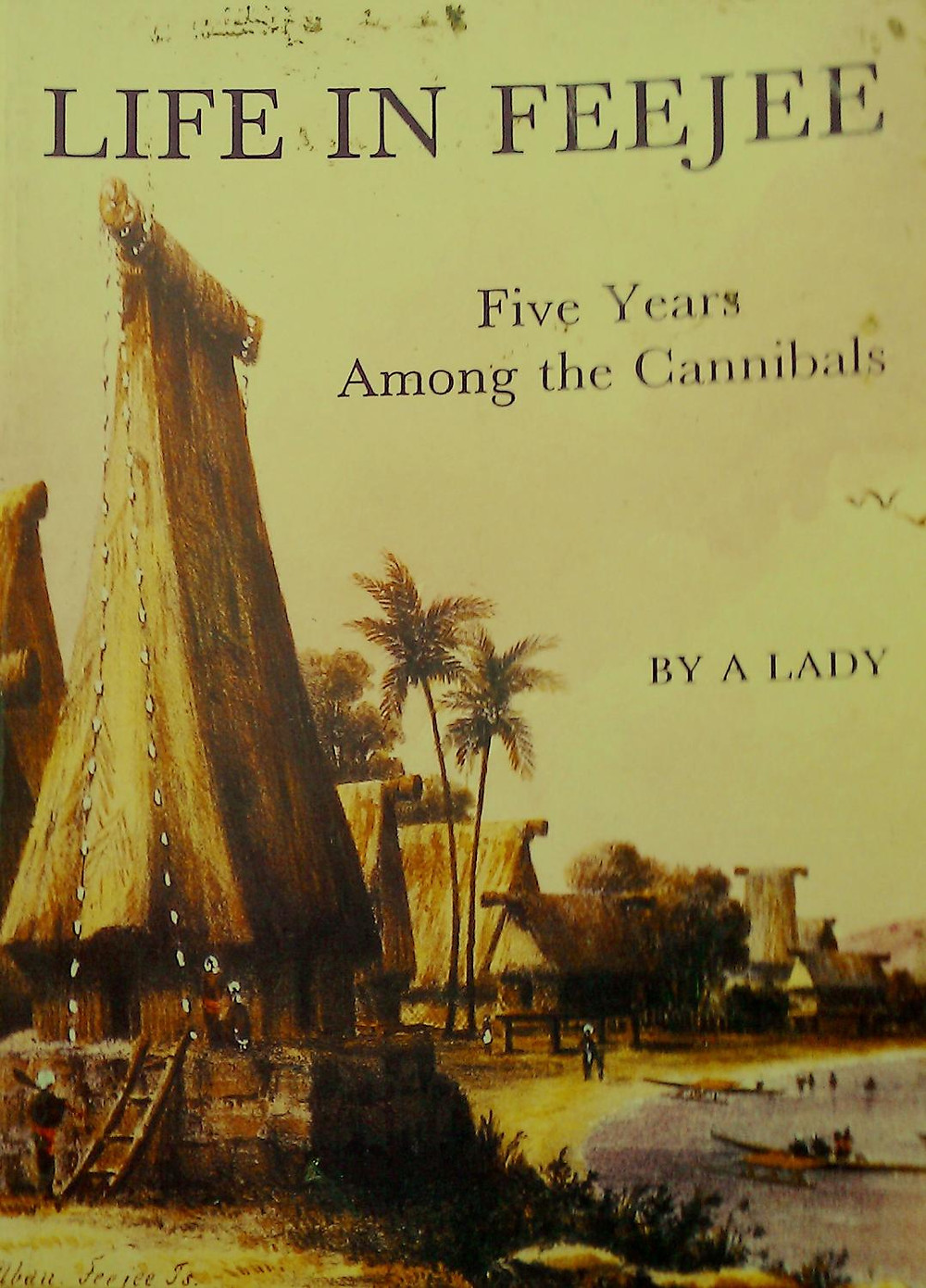 book cover of Life in Fiji by Mary Wallis, 1851