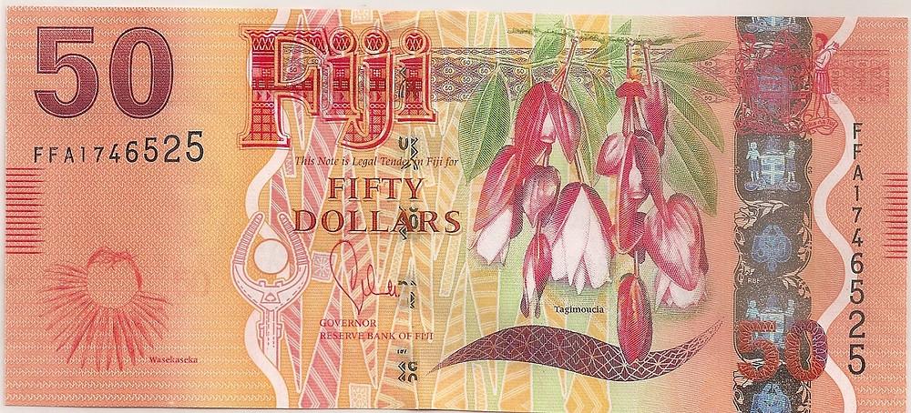 Fiji $50 note