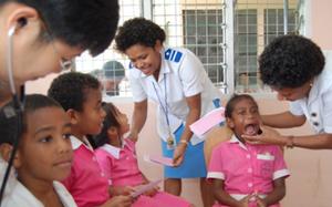 Fiji measles clinic 2019