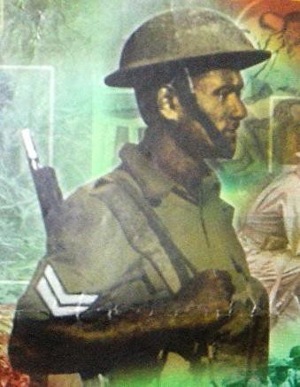 portrait of Fiji's VD hero