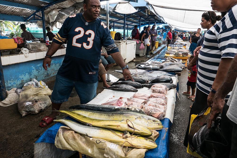 Suva fish market, Fiji