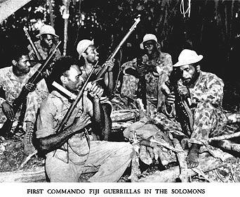 Fiji Commandos in Solomon Islands