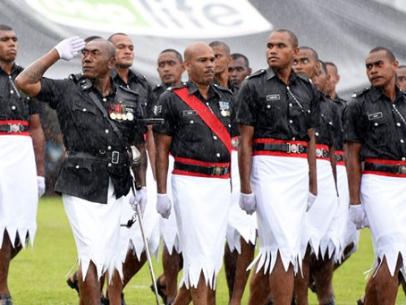 Fiji Police: the best-dressed in the world?