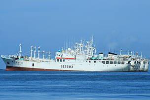 Longline fishing vessels in Suva Harbour