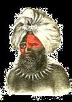 Man's fine masi turban