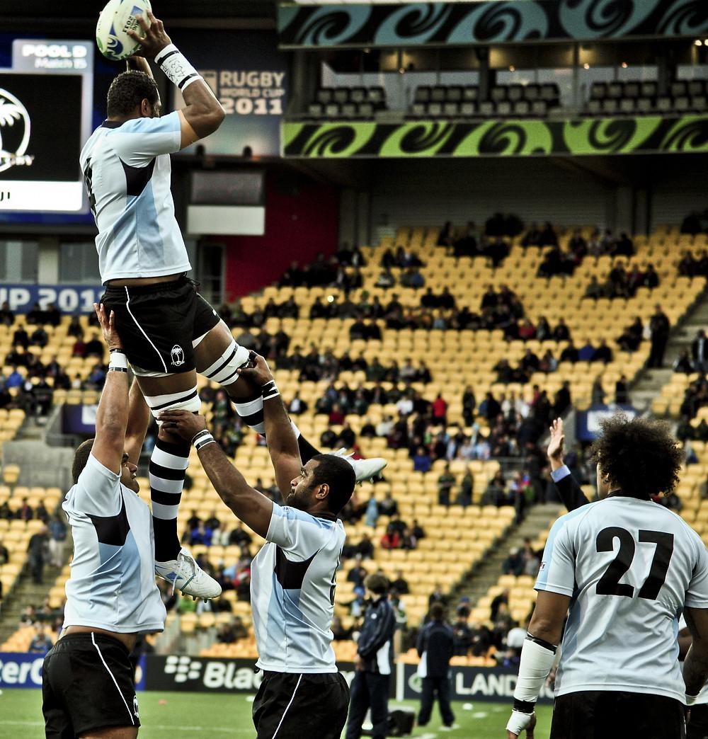 Fiji rugby vs Sth Africa