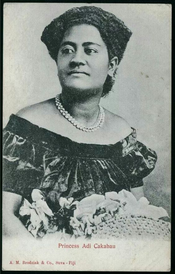 Adi Cakobau, daughter of Chief Cakobau