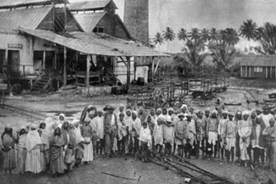 Germitiyas at a sugar mill
