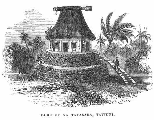 19th century Fiji bure (temple)