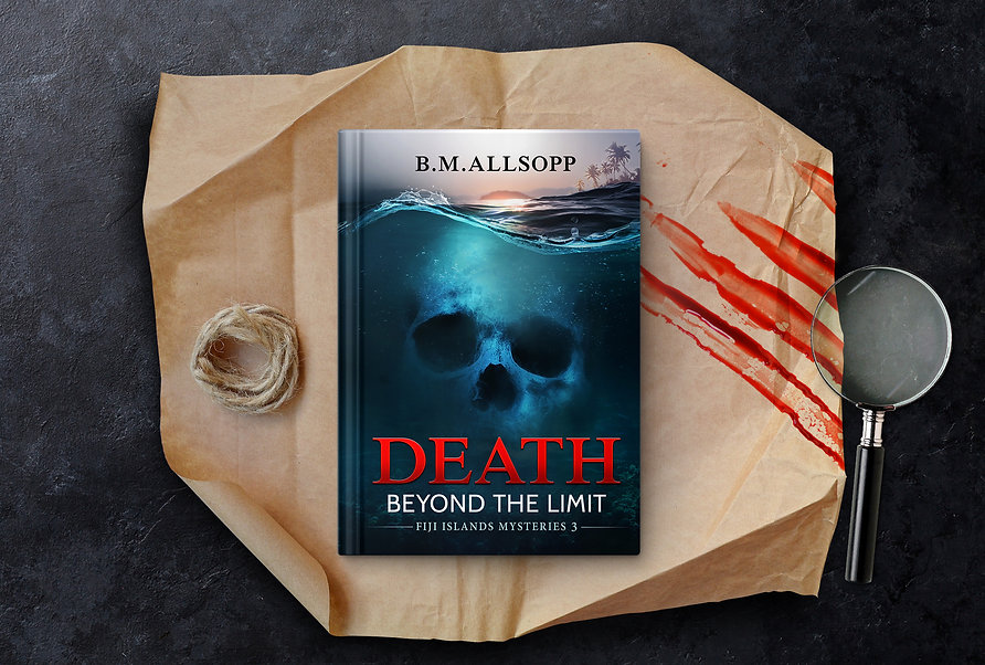 The book Death Beyond The Limit_PROMO ba
