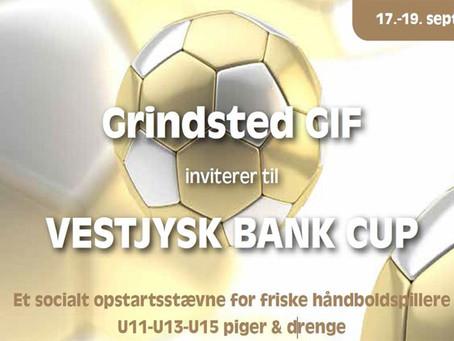Tilmelding åben til Vestjysk Bank Cup 2021