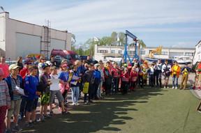 Открытие сезона в Санкт-Петербурге.