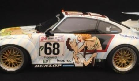 Porsche 911: Wolinski's Naked Girl