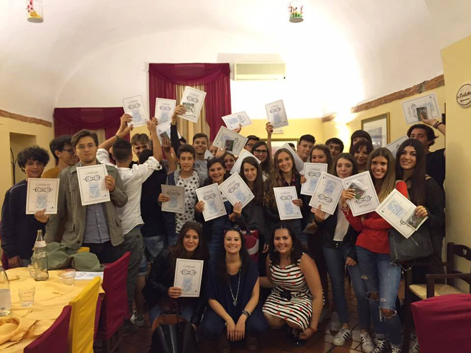 Italian certificates students 2016