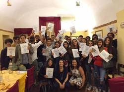 Italian certificates students 2016