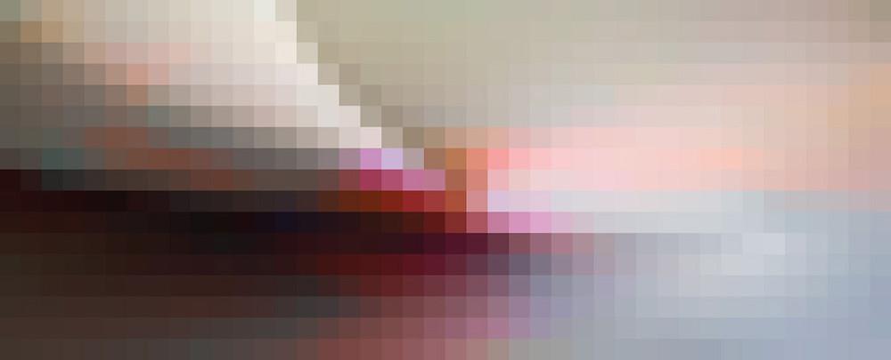 """Pathways 1, 30""""x70"""" Mixed Media on Canvas by Bassmi"""